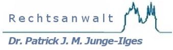 Rechtsanwalt Dr. Junge-Ilges